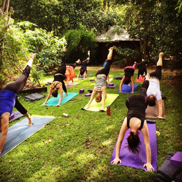 KINDLE - Yoga in Nature retreat, 10th September 2016- Solar Plexus chakra