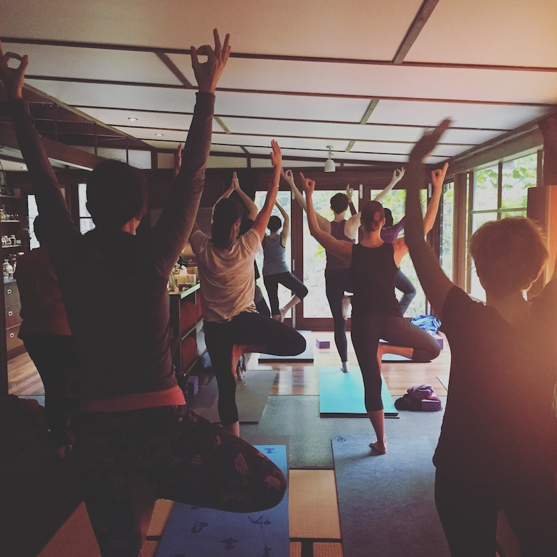 Sunrise Yoga at the Shala - 10-class series starting 21st August 2018