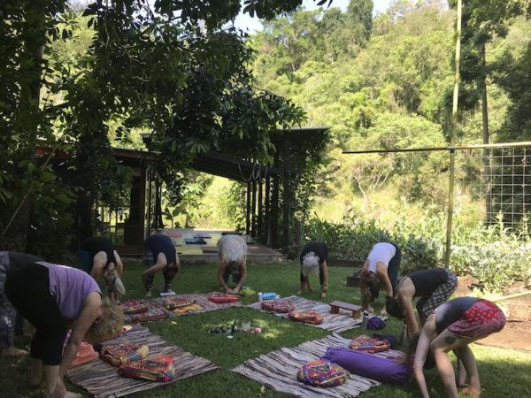 women's yogini circle
