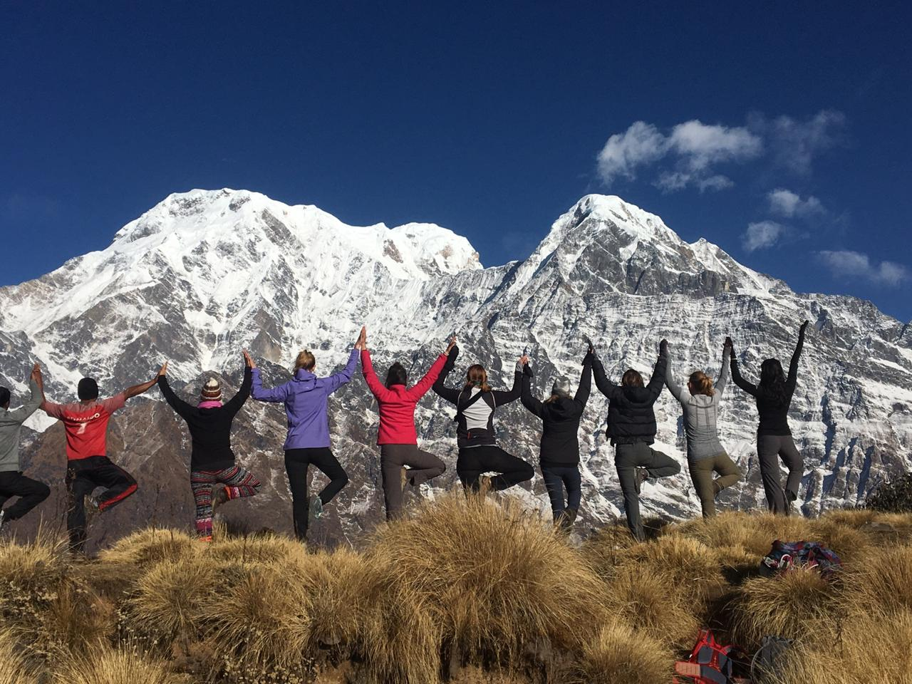 nepal trekking, yoga retreat